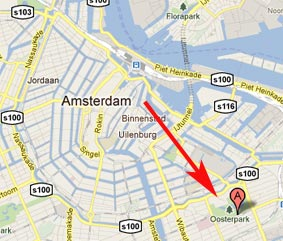 Hotels near Oosterpark Amsterdam
